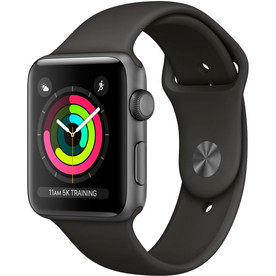Apple Watch Series 3 42mm Aluminum Case Space Gray