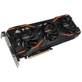 Видеокарта GeForce GTX1080, PCI-E 8192Mb Gigabyte GTX 1080 OC