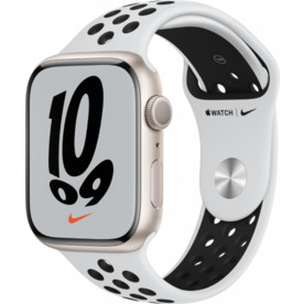 Apple Watch Series 3 38mm with Black Sport Band Fog Silver