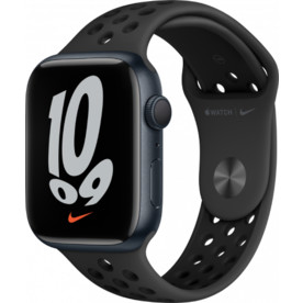 Apple Watch Series 3 42mm with Black Sport Band Fog Silver